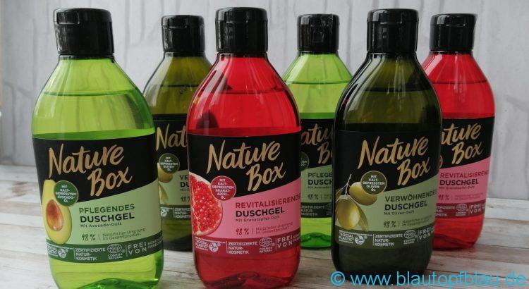 Nature Box Duschgel Erfahrung