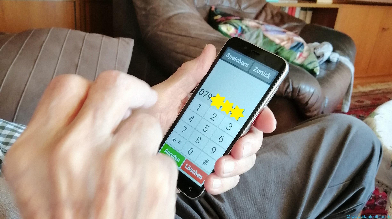 Erfahrung emporiaSMART.4 Smartphone für Senioren